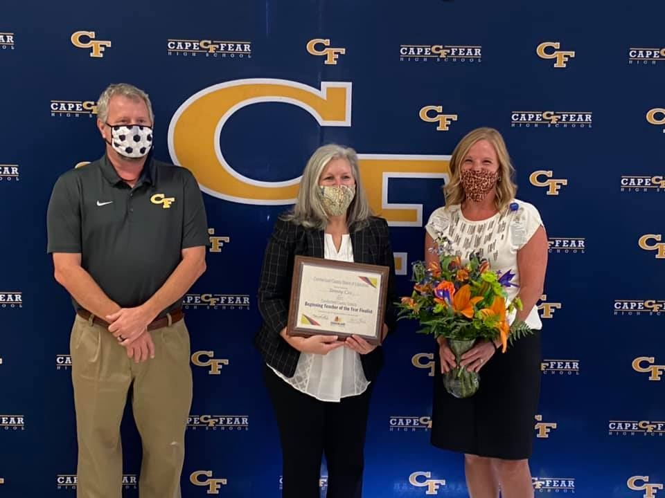 Tammy Cox, 2020 Beginning Teacher of the Year