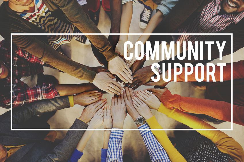 Community support means everything!