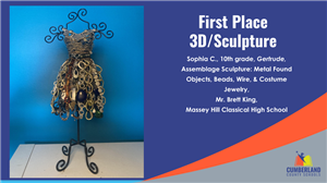 Juried Art Show First Place 3D Sculpture